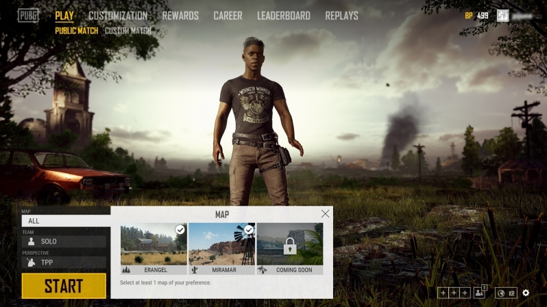 Map Selection has been added to PUBG alongside other improvements