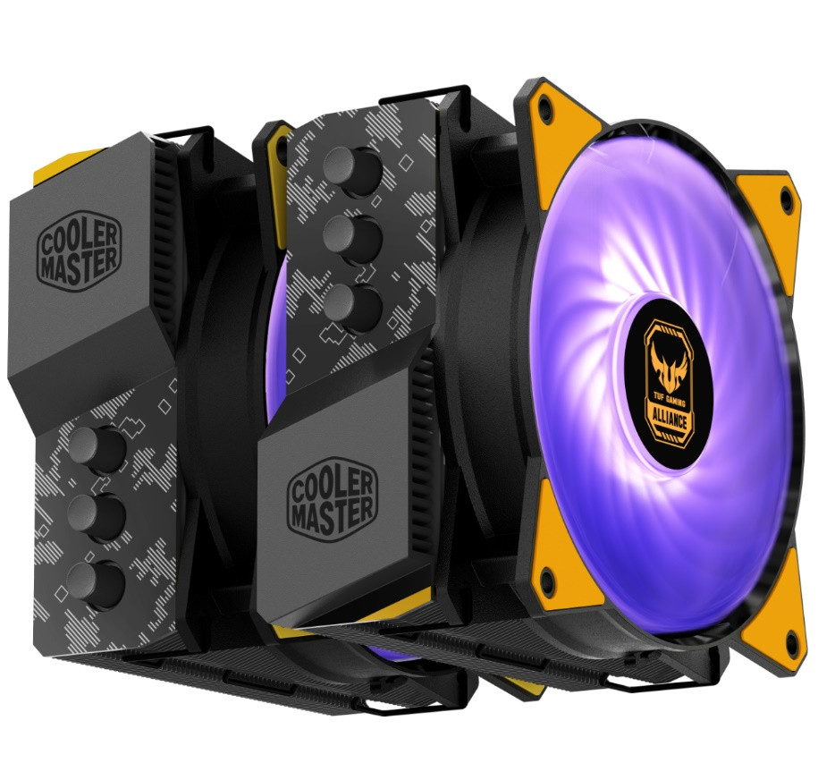 Cooler Master announces their TUF Gaming Alliance with ASUS