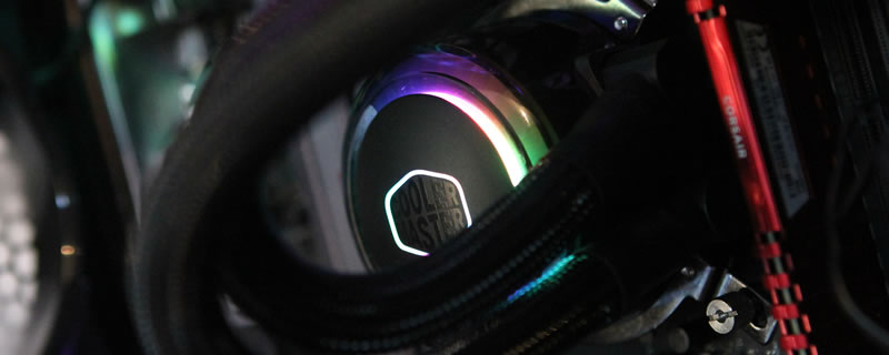 CoolerMaster MasterLiquid  ML240R RGB Review