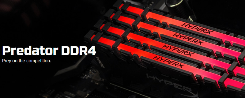 HyperX has started shipping Predator RGB DDR4 memeory with Infrared Sync Technology