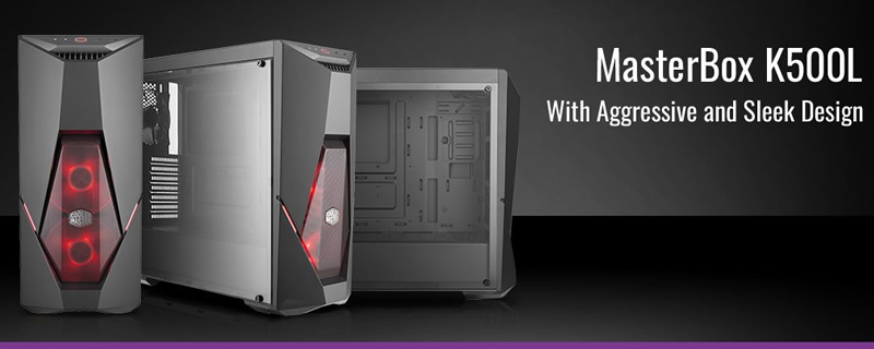 Cooler Master launches their MasterBox K500L chassis