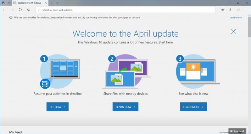 How to install Windows 10's April 2018 Update