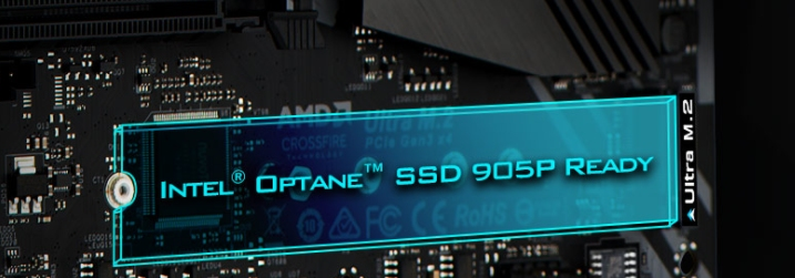 ASRock web pages point towards future Optane 905P M.2 NVMe SSD