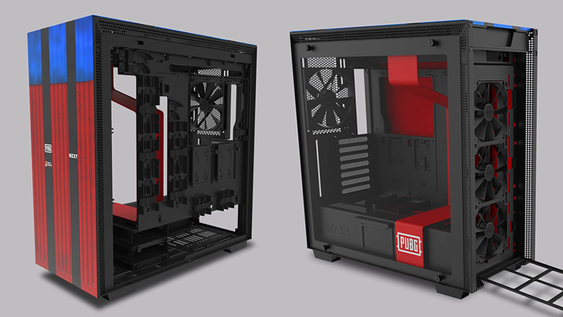 NZXT released Limited Edition PUBG Liscensed H700 case