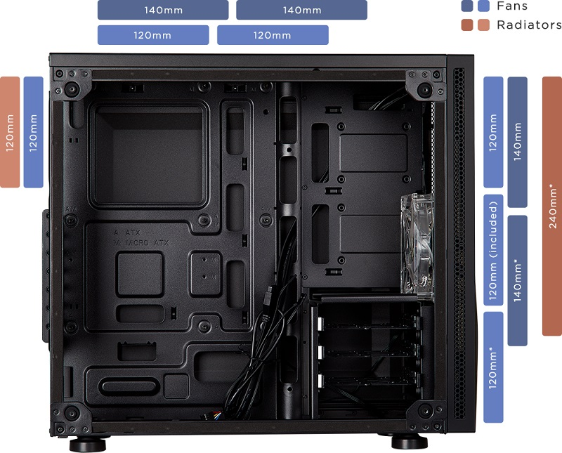 Corsair releases their Carbide SPEC-05 Mid-Tower chassis
