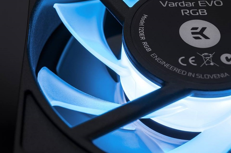 EK teases upcoming Vardar EVO RGB series fans