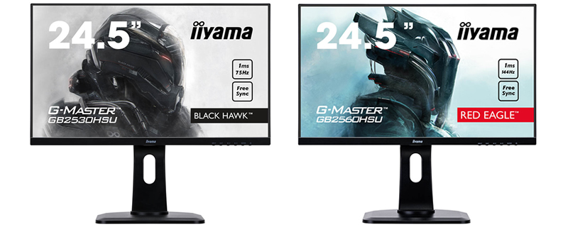 Iiyama releases a trio of G-Master FreeSync monitors