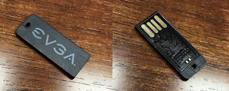 EVGA plans to release drivers on USBs with future motherboards