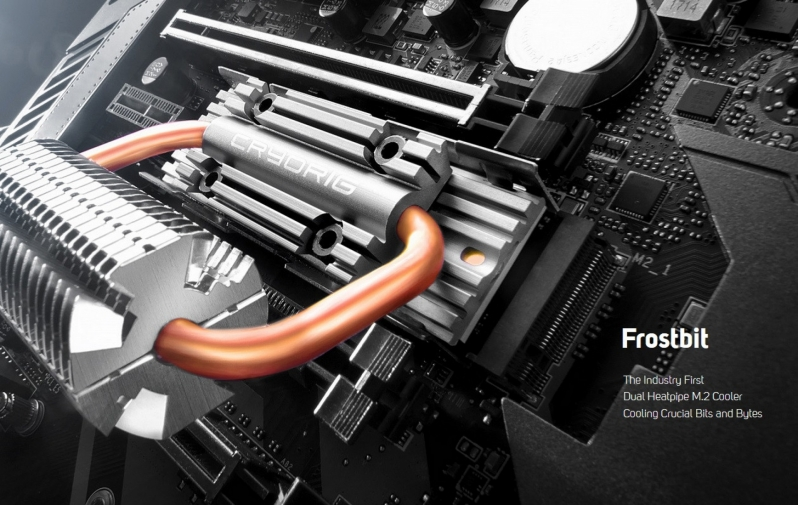 CRYORIG reveals their insane Frostbit M.2 heatsink