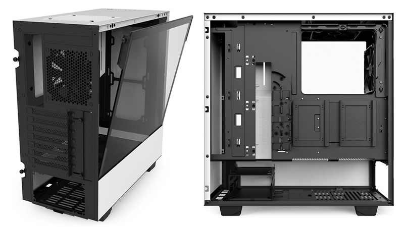 NXZT expands their H-series with H500 and H500i cases