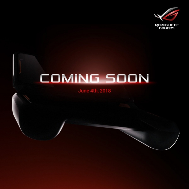 ASUS teases what is likely to be an ROG gaming phone