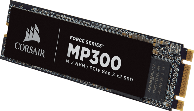 Corsair launches their mid-rangeMP300 NVMe SSD