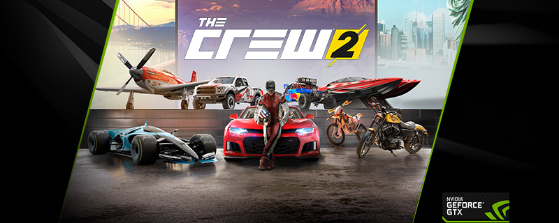 Nvidia are giving away copies of The Crew 2 with GTX 1080 and GTX 1080 Ti GPUs and systems