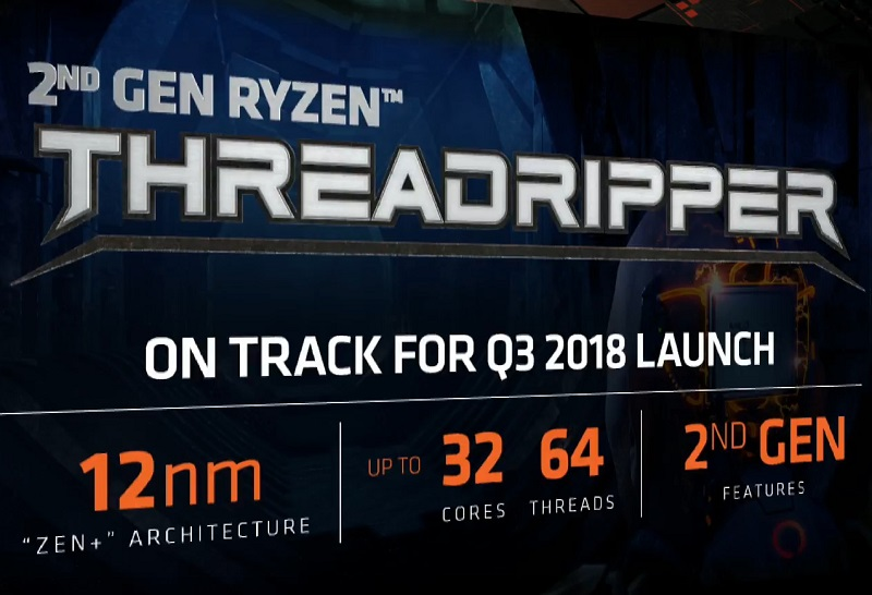 AMD announced Threadripper 2nd Generation with up to 32 cores and 64 threads