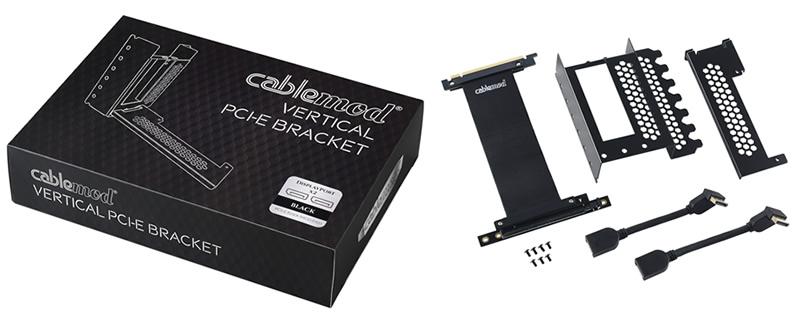 CableMod reveals their custom vertical PCI-e bracket for ATX cases