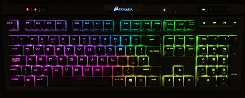 Corsair Strafe RGB Mk.2 Silent Mechanical Gaming Keyboard