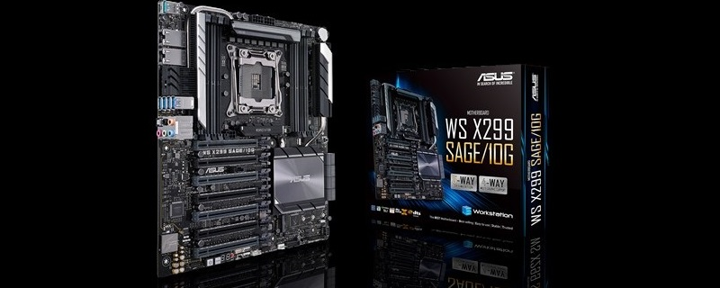ASUS launches their WS X299 SAGE motherboard 10G with dual 10Gb Nics