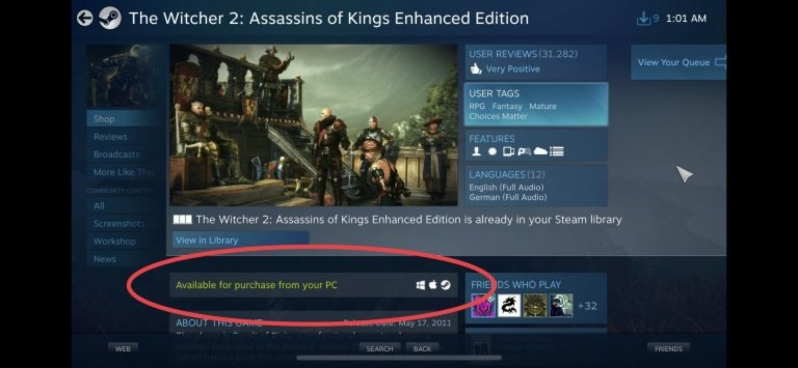 Valve a appeases Apple - removes purchases on Steam Link's iOS app