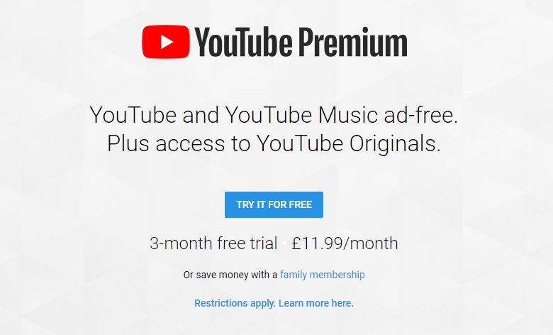 YouTube Premium and Music launch in 17 countries