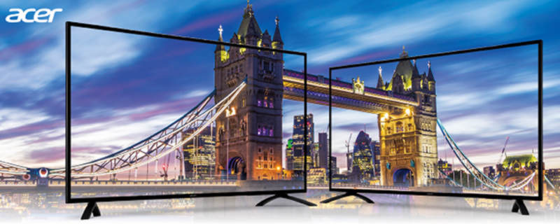 ACER to launch 49 and 55 inch 4K HDR PC displays