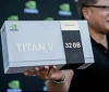 "Nvidia reveals and gives away 32GB Titan V ""CEO Edition"" GPUs"