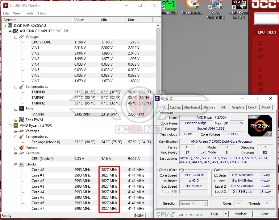 AMD Ryzen 7 2700X with Corsair H60 Overclocking & Undervolting