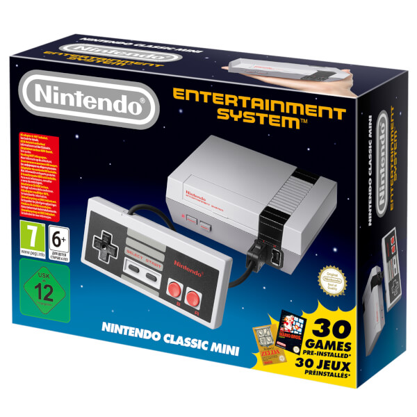 Nintendo's NES and SNES Mini are back in stock in the UK