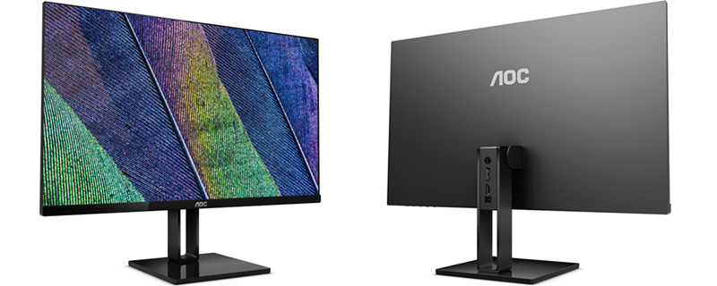 AOC releases three new ultra-slim FreeSync IPS displays