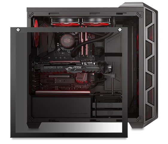 Cooler Master releases their H500 chassis