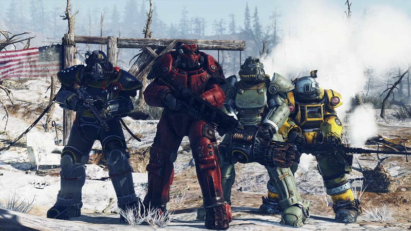Fallout 76 will have limits on PVP to prevent harassment