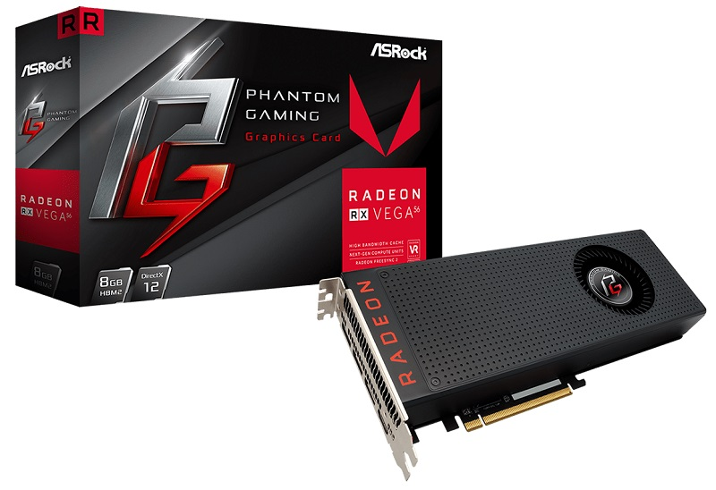 ASRock has launched their RX Vega series of Phantom Gaming Graphics cards