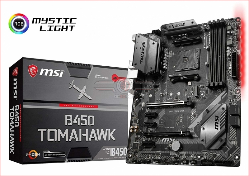 MSI B450 TOMAHAWK appears at retail