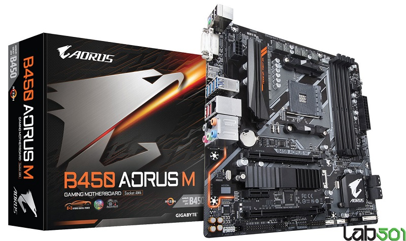 Two Gigabyte Aorus B450 motherboards appear online
