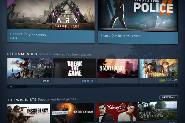 Valve has renovated Steam's