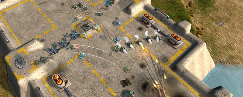 Zero-K, a Supreme Commander-like RTS, is available for free on Steam