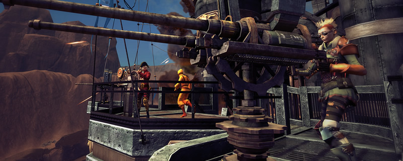 Guns of Icarus Alliance is available for free on Humble