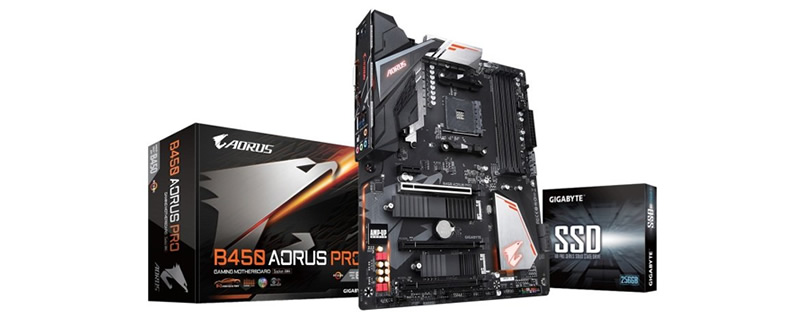 Gigabyte gives away 256GB UD PRO SSDs with new B450 AORUS PRO motherboards