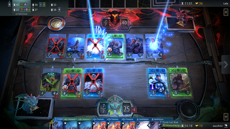 Valve's Artifact card game will release this November