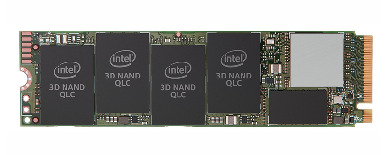 Intel launches their QLC-powered 660p series of NVMe SSDs
