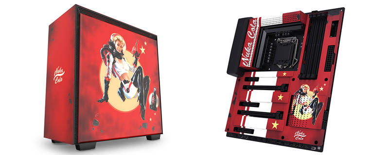 NZXT reveals Fallout-inspired H700 Nuka-Cola Edition and N7 Nuka-Cola mainboard covers