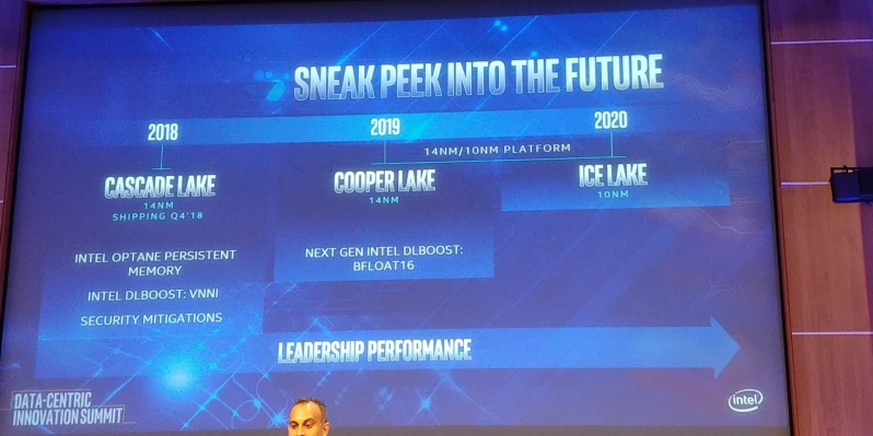 Intel discusses their server roadmap - Cascade Lake and the road to 10nm