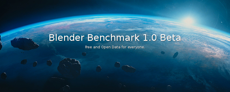 Blender creates an official benchmark