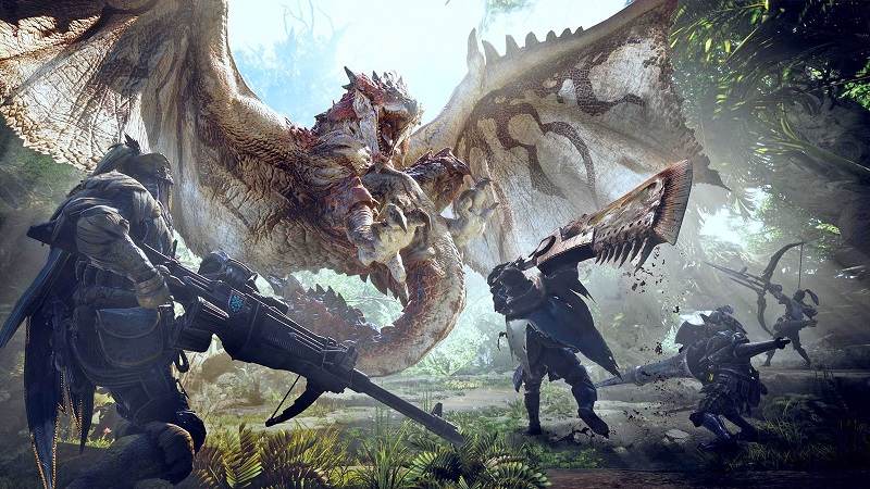 Capcom plans fixes for Monster Hunter: World's Connection Errors and Mouse controls