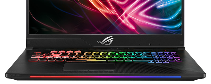 ASUS reveals their Strix GL704 SCAR II notebook