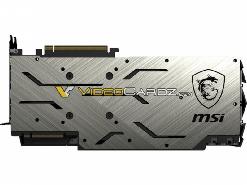 MSI Geforce RTX 2080 Ti and RTX 2080 pictured