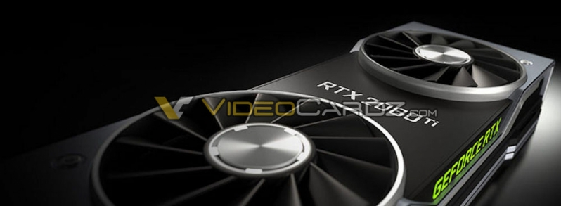 Reference Geforce 2080 Ti render leaked - Dual Fan cooler!