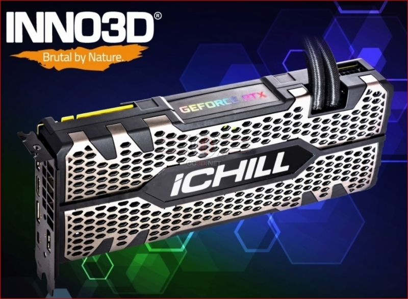 INNO3D revealed liquid cooled Geforce RTX 2080 Ti ICHILL Black