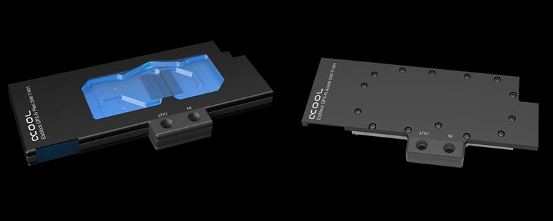 Alphacool reveals their Ice Block GPX-N series of RTX 2070 M1 water blocks
