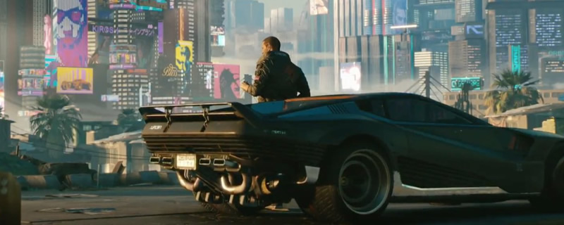 CD Projekt Red releases their first Cyberpunk 2077 gameplay video