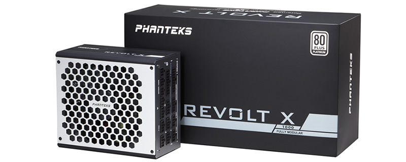 Phanteks reveals their REVOLT X series of dual-system power supplies